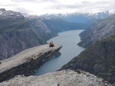 AFAR.com Place: Trolltunga Hike  by Laura O