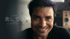 Chayanne, a smile is worth a thousand words. Humanos A Marte 2014