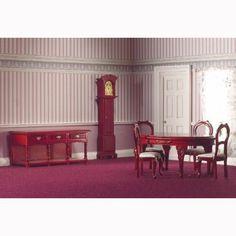 Traditional Dining Set, 7 pcs - Miscellaneous - Miscellaneous - Furniture - DHE Minis