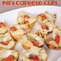 Mini Caprese Cups - The Perfect Bite Size Appetizer - The Love Nerds