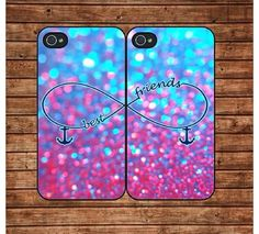 bff cases iphone 5 and Iphone 5s, Zoom Iphone, Cool Iphone Cases, Iphone 6 Plus Case, Cute Phone Cases, Coque Iphone, Best Friend Cases, Bff Cases, Friends Phone Case