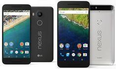 Google Nexus 5X vs Huawei Nexus 6P:What's the difference?