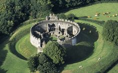 Restormel Castle at Lostwithiel in Cornwall https://www.atlasobscura.com/places/restormel-castle