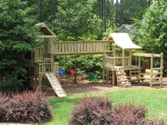 The Board Walk - Kids Korner Playsets (919) 730-3211 love the swing for the parents... brilliant