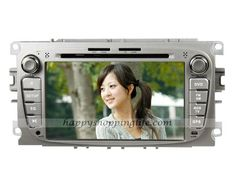 Android 4.0 car DVD player for Ford C-Max 2007-2010 , auto multimedia with 7 inch touch screen, GPS navigation system with dual zone function, WIFI, 3G Internet Access, analog TV tuner built in, Radio with RDS, Bluetooth car kit, iPod port, USB, SD, support the original steering wheel controls, CAN bus decoder to support the orignal digital amplifier (optional), Color: Silver, Black