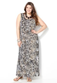 Avenue plus size maxi dresses