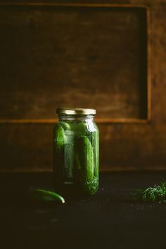 pickle recipe. I love fresh pickles. Martha Stewart has a great refrigerator pickle recipe you can look up as well that uses old (washed) glass jars to store pickles. No fancy canning tools or skills needed! Recycling and healthy eating for the win.