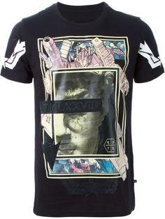"Philipp Plein T-shirt ""tech-baroque"" - Russo Capri - Farfetch.com"
