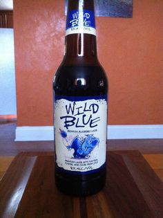 Wild Blue - Premium Blueberry Lager - Premium lager with natural flavors and color from juice