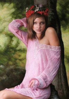 Kiera Malone. Painter