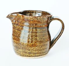 Vintage Porthleven Pottery Jug - Early Graham Fern Studio Pottery - Signed GF…