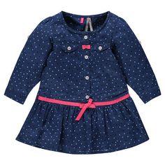 Robe chemise imprimée étoiles à volant et noeuds New collection  autumn   winter 16 ! cb98a1991bd