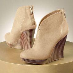 Jennifer Lopez Platform Wedge Booties - Womens $69.99 @Kohls