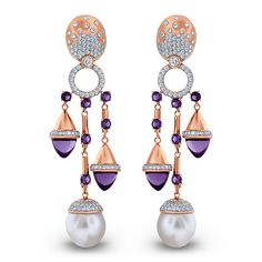 Chandelier Earrings | Jacob & Co. | Timepieces | Fine Jewelry | Engagement Rings