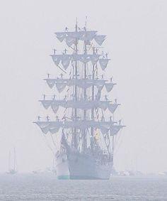 Tall Ship- love this pic!