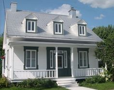 Nice Plan Maison Quebecoise that you must know, You?re in good company if you?re looking for Plan Maison Quebecoise Canadian House, Cottage Plan, Style At Home, Victorian Homes, Old Houses, Beautiful Homes, House Plans, Sweet Home, Farmhouse