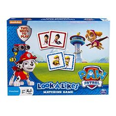 Paw Patrol Look a Likes Matching Game - http://www.kidsdimension.com/paw-patrol-look-a-likes-matching-game/