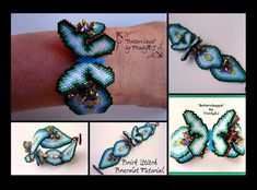 A turquiose and silver beadwoven bracelet fit with a southwestern theme. Silver seed beads and cubes, along with turquoise swavorski crystals. Beaded Jewelry Patterns, Bracelet Patterns, Beading Patterns, Seed Bead Bracelets Tutorials, Beaded Bracelets, Seed Bead Jewelry, Bracelet Tutorial, Brick Stitch, Bead Weaving