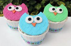Cupcakes para festa infantil