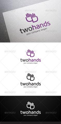 Two Hands Logo (Symbols)