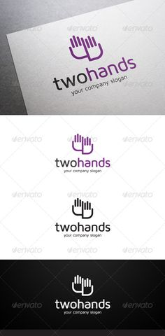 Two Hands Logo (Symbols)