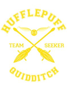 """""""Hufflepuff - Team Seeker"""" T-Shirts & Hoodies by quidditchleague Harry Potter Love, Harry Potter Fandom, Harry Potter World, Ravenclaw Quidditch, Slytherin And Hufflepuff, Hogwarts Houses, Shirt Ideas, Vinyl Designs, Backgrounds"""