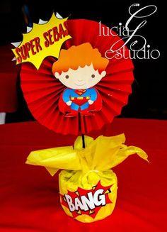 "Photo 1 of 6: Superhero / Birthday ""Super Sebas Birthday Party"" | Catch My Party"