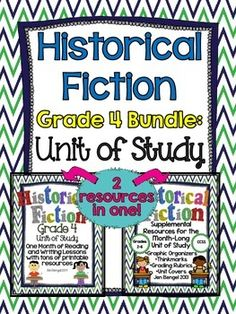 Bundles are available in grades 2-6. This bundle includes everything you need to teach and assess for a month long unit of study on historical fiction in the reading and writing workshops! There are 40 CCSS detailed lessons, chart examples, printable graphic organizers and thinkmarks for every reading lessons, writing rubrics, and much more! ($)