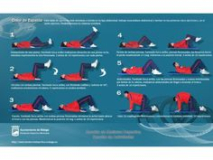 Tabla de ejercicios para aliviar el dolor de espalda