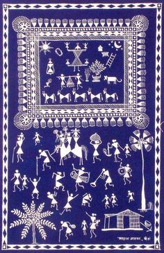 indian folklore painting - Google Search