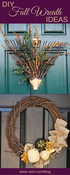 Add festive flair to your apartment this season by making a fall wreath. This DIY project is simple, inexpensive and sure to get you into the autumn mood. Get inspired by these fall wreath ideas!
