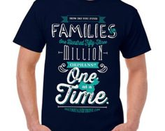 One At A Time Adoption Shirt // Unisex Adult