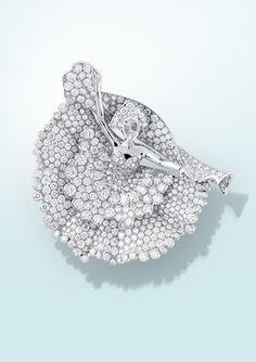 Ballerina in diamonds from Van Cleef & Arpels