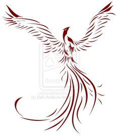 Phoenix Resurrection v.1 by Saki-Asakura.deviantart.com on @deviantART