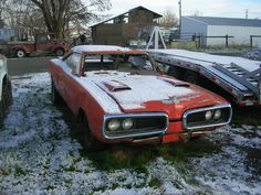 1969 Dodge Cornet R/T Super Bee 426 hemi. Breaks my heart to even look at this photo!!!