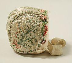 18th century French Cap at the Metropolitan Museum of Art, New York