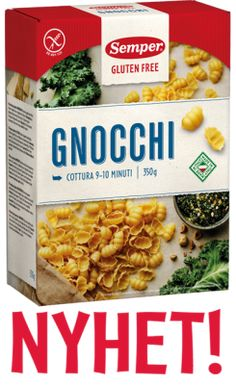 Semper Glutenfritt Gnocchi Linguine, Gnocchi, Cereal, Breakfast, Food, Morning Coffee, Meal, Essen, Hoods