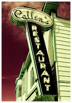 Callen's Retaurant - Union Grove WI by Debra Bricault