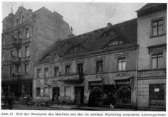 Forst Lausitz, Markt mit Adlerapotheke