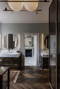 Harley Street - SHH by bobbi Modern Bathroom Design, Bathroom Interior Design, Decor Interior Design, Interior Decorating, Kitchen Interior, Furniture Design, Decorating Ideas, Bathroom Renovations, Home Remodeling