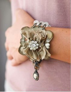 what to do with old belt buckles~ By Ruth Rae