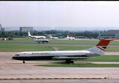 British Airways Vickers-Standard Super VC-10 (registered G-ASGL)