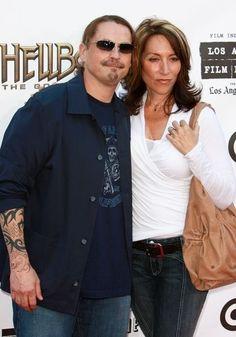 Kurt Sutter and Katy Sagal