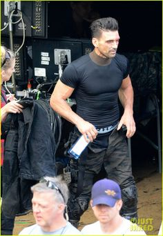 jeremy renner joins chris evans on captain america civil war set 23 Jeremy Renner is photographed for the first time on the set of Captain America: Civil War hiding his Hawkeye costume under a cloak on Tuesday (May 19) in Atlanta,…