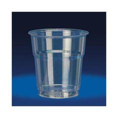 Bicchieri plastica trasparente Kristal da 100ml (50 pezzi)