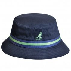 725146ae1fd The Stripe Lahinch is an updated version of the classic back in the days  cotton bucket hat.