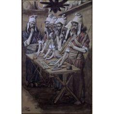 The Jews Passover James J Tissot (1836-1902 French) Jewish Museum New York Canvas Art - James Tissot (24 x 36)