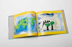 Your kids' art is preserved forever in our #PlumPrint books