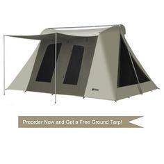 Super Deluxe Kodiak Canvas Tent 6041VX 10x14 (with tarp 6043)