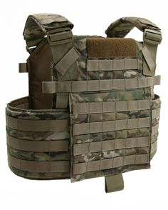 The BCS Tactical Plate Carrier with Cumber System. The Tactical Plate carrrier has all the features of a plate carrier with the addition of a removable cumber system for added comfort and load bearing.